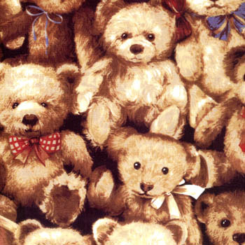 Bear With Me by Fabri-Quilt - Stacked Teddy Bears