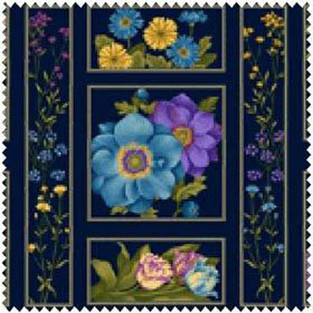 Botanica by Henry Glass - Floral Panel
