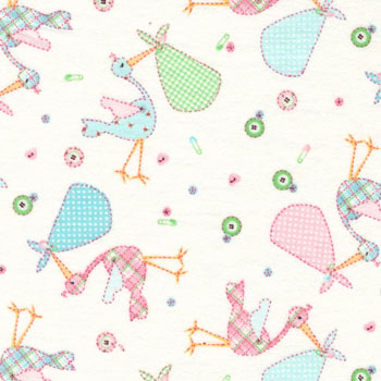 Cuddle Print Flannel by Fabri-Quilt - A New Arrival