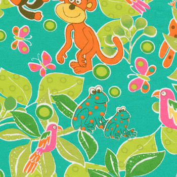 Jungle Play by Fabri-Quilt - Jungle Animal Adventure