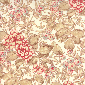Papillon by Moda Fabrics - Faded Garden Ivory