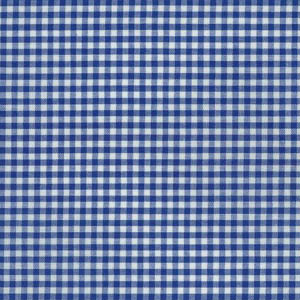Sevenberry Gingham Collection - Royal Blue 1/8 Check