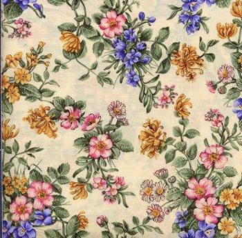 Shakespeare's Flowers by Fabric Freedom UK F422-3