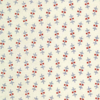 Shirtings 1875-1900 Moda Fabric - Ditsy Blue