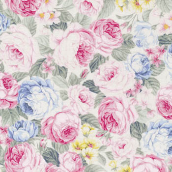 Spring Romance by Fabri-Quilt - Packed Floral