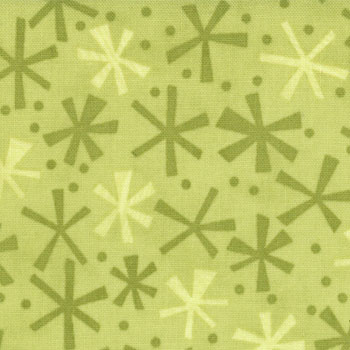 Ten Little Things by Moda Farics - Dots Twinks Lime